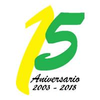Logo del décimo aniversario de Reciclajes Santa Clara